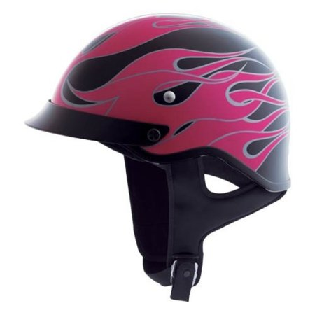 Castle CS-Cruiser Burn Out Half Helmet Berry/Pink/Black](Halo Helmets For Sale)