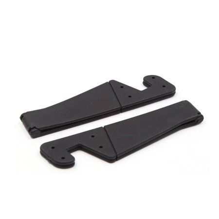 2 Pcs Black V Shaped Plastic Cellphone Mobile GPS MP4 Holder Shelf for Car - image 2 of 2