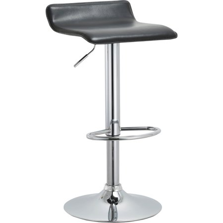 Contoured Contemporary Backless Armless Swivel Height