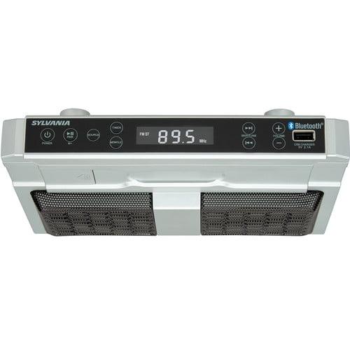 Cabinet Kitchen Clock Radio
