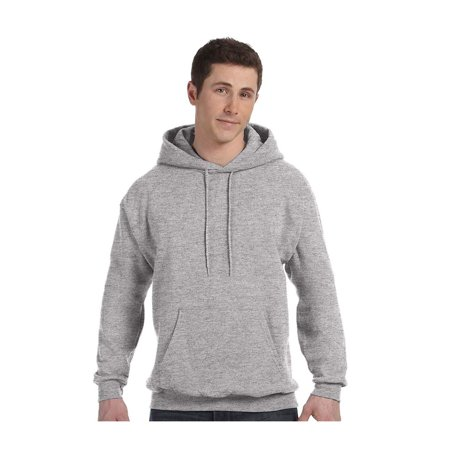 Hanes Men's Fleece Full Cut Athletic Hooded Pullover, Style P170