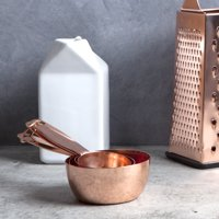 Thyme & Table 4-Piece Copper Measuring Cup Set