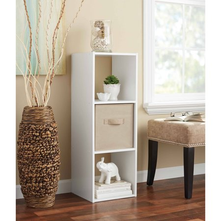 Wood Cube - Mainstays 3 Cube Storage Organizer, Multiple Colors