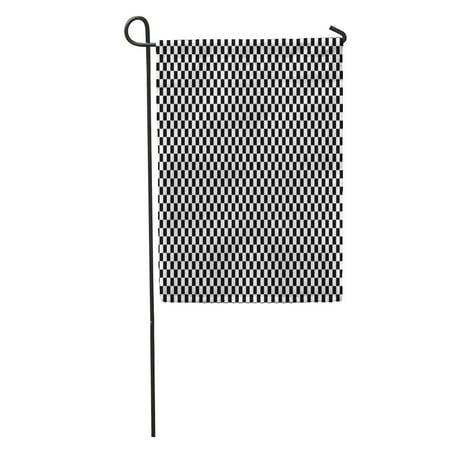 KDAGR Car Checkered Racing Flag White Race Line Start End Auto Garden Flag Decorative Flag House Banner 12x18 inch](Race Car Checkered Flag)