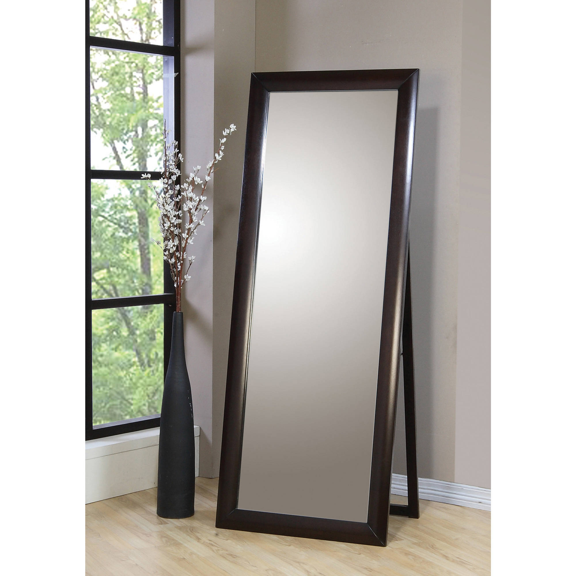 Coaster Company Phoenix Collection Standing Mirror, Cappuccino