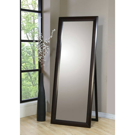 - Coaster Company Phoenix Collection Standing Mirror, Cappuccino