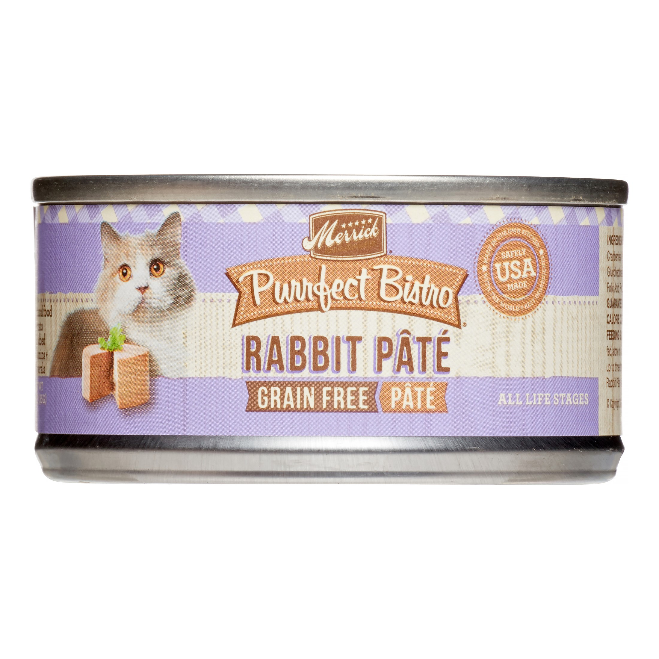 Merrick Purrfect Bistro Grain-Free Savory Trout Dinner Wet Cat Food, 3 oz