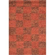 Chandra Rugs Strata Brown/Red Area Rug
