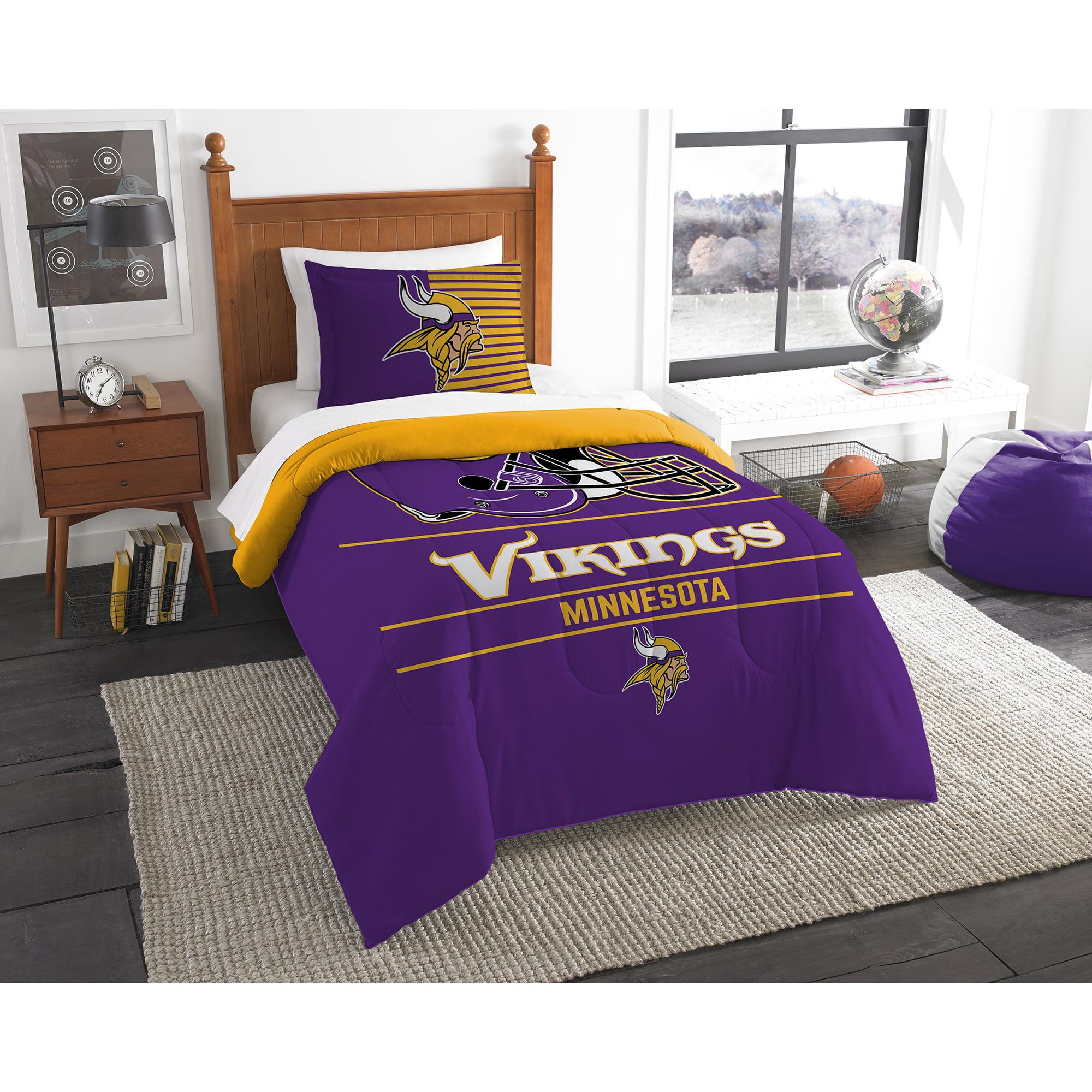 Minnesota Vikings The Northwest Company NFL Draft Twin Comforter Set - No Size