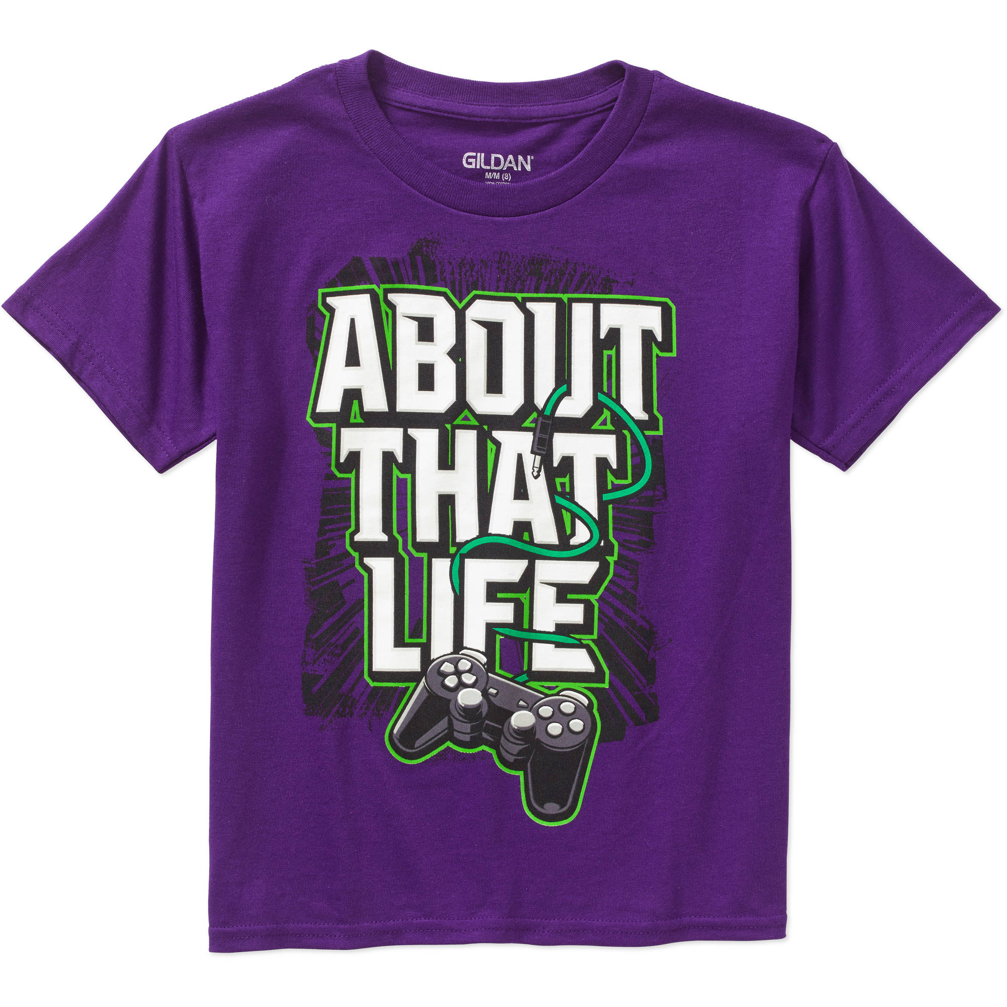 Boys' About That Life Short Sleeve Humor Graphic Tee