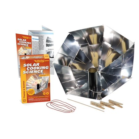 Ignition Series Solar Cooking Science  Construct Parabolic Solar Cooker By Thames Kosmos Ship From Us