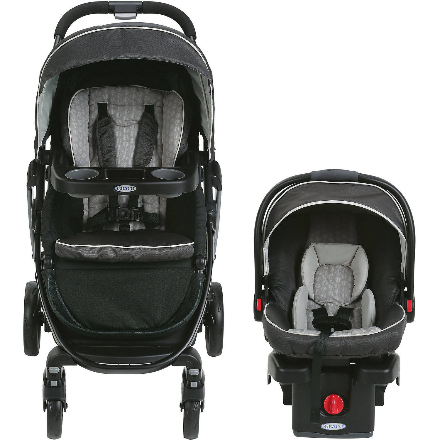 Graco Modes Click Connect Travel System, Car Seat Stroller ...