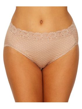 Vanity Fair Womens Flattering Lace Hi-Cut Brief Style-13280
