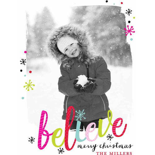 Believe Standard Holiday Card