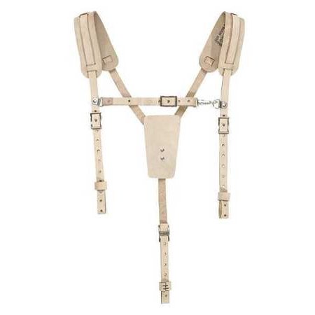 Floral Leather Suspenders - Leather Suspenders