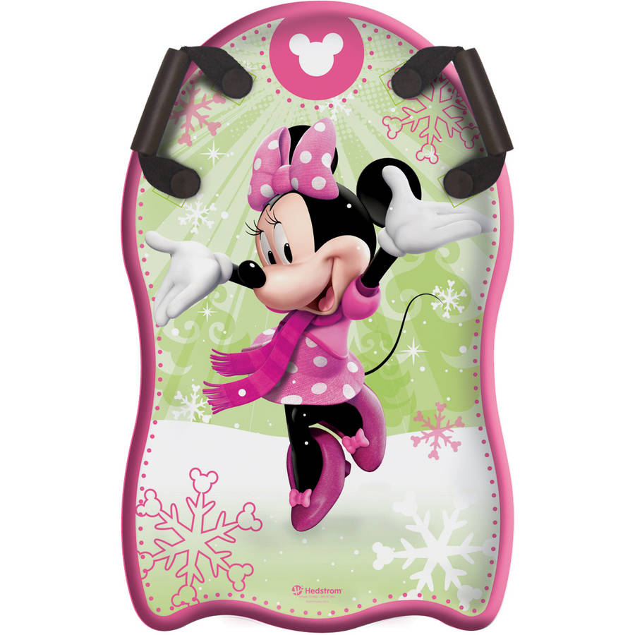 "Minnie Mouse 33"" Shaped Snow Speedster"
