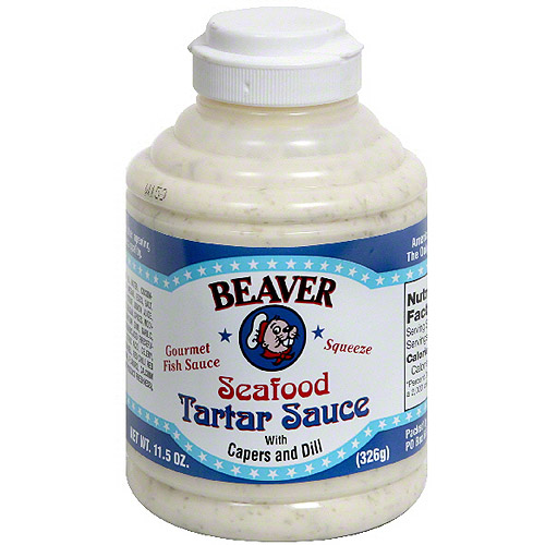 Beaver Brand Tartar Sauce, 11.5 oz (Pack of 6)
