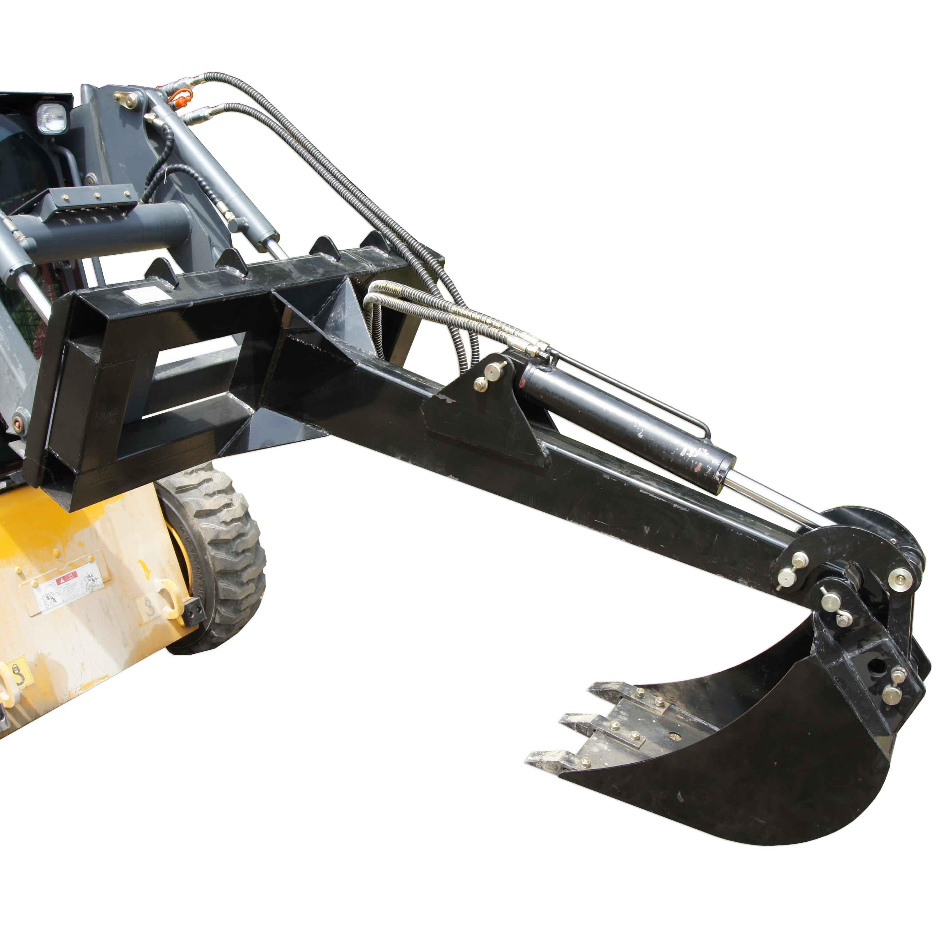 "Skid steer Backhoe Fronthoe 16"" Bucket Excavator Attachment Bobcat Loader Titan"