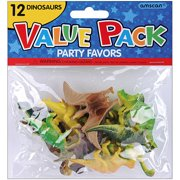 Party Favors 12 Pack Dinosaurs