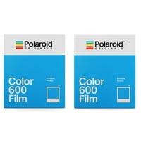 2 Pack Polaroid Originals 4670 Instant Color Film for 600 Type Cameras