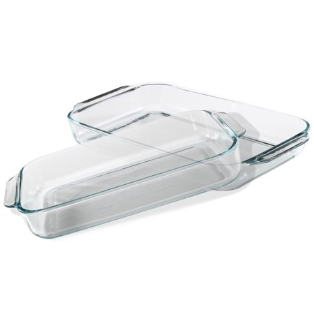how to clean crystal baking dishes