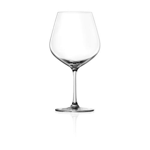 Lucaris Tokyo Temptation 25 Oz. Burgundy Glass (Set of 4) by Lucaris