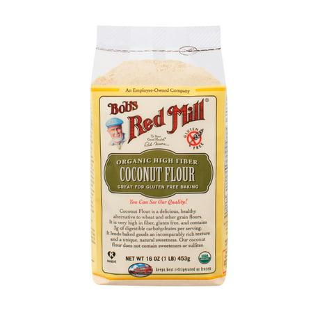 Bobs Red Mill, Organic Coconut Flour, 16 Oz