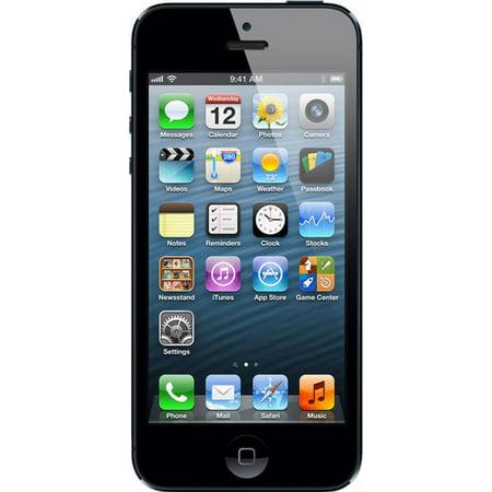 Apple iPhone 5 16GB Black & Slate (Unlocked) Refurbished (Apple Iphone 5 16gb Black & Slate)