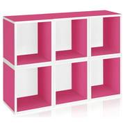 Storage Cube Plus in Pink - Set of 6
