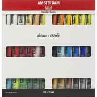 Amsterdam 20ml Standard Acrylic Paint Set 36/Pkg-