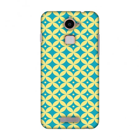 Coolpad Note 3 Lite Case - Overlapped Circles 2, Hard Plastic Back Cover   Slim Profile Cute Printed Designer Snap on Case with Screen Cleaning Kit