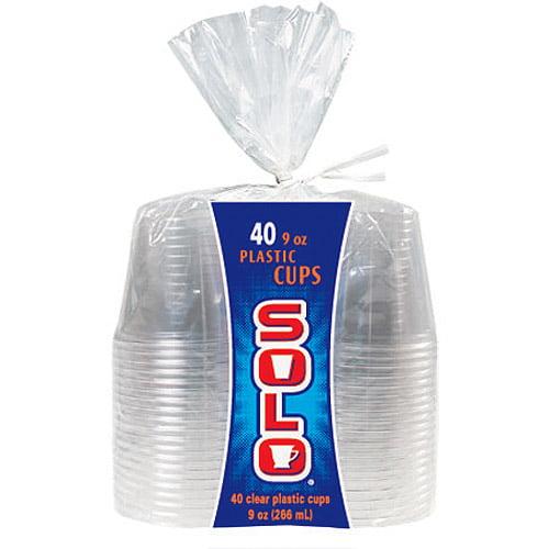 SOLO Cup 9 oz, 40 ct
