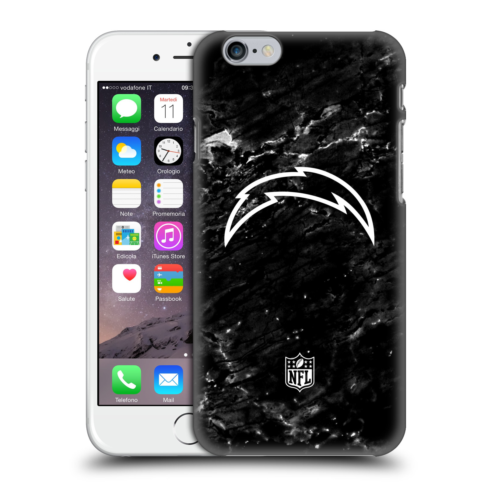 OFFICIAL NFL 201718 LOS ANGELES CHARGERS HARD BACK CASE FOR APPLE