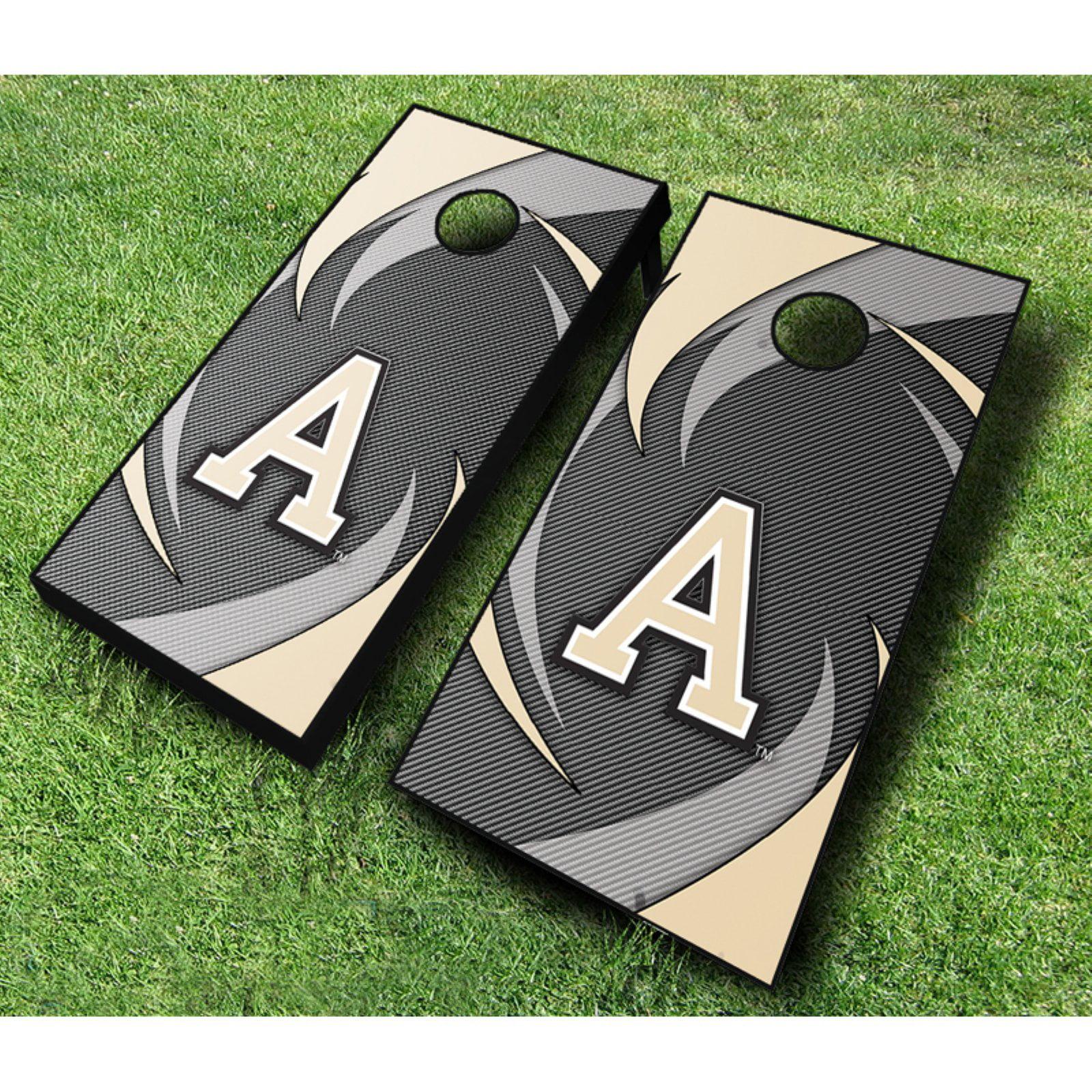 NCAA Army Black Knights Swoosh Cornhole Set by AJJ Cornhole