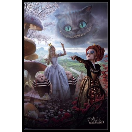 Disney Alice in Wonderland Poster Poster Print - Alice In Wonderland Theme