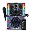 Singing Machine SML625BTBK Bluetooth CD+G Karaoke System