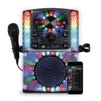 Singing Machine SML625BTBK Bluetooth CD+G Karaoke System Deals