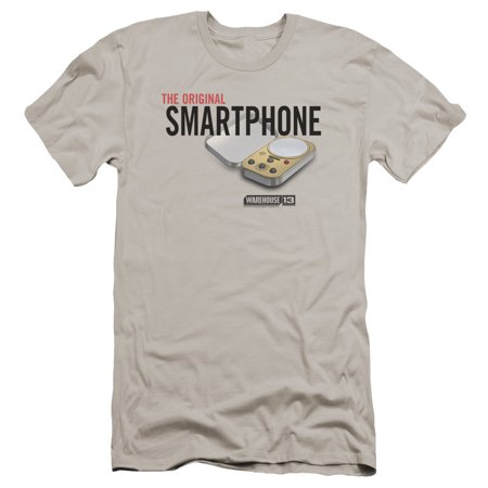Warehouse 13 Original Smartphone Mens Premium Slim Fit Shirt