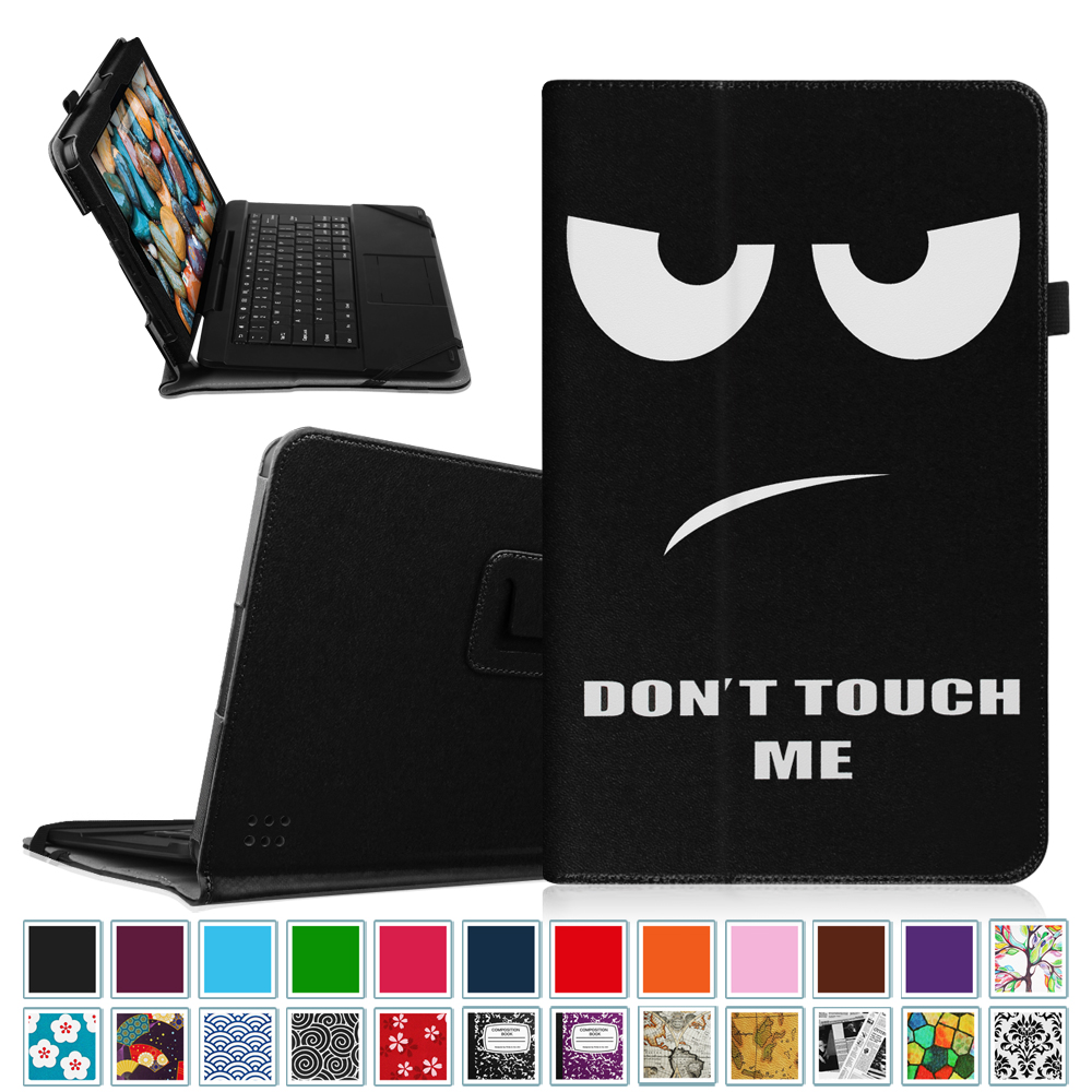 """Fintie RCA Galileo Pro11.5"""" / Maven Pro 11.6"""", Cambio W1162 V2 / W116 11 inch 2-in-1 Tablet Case, Dont Touch"""