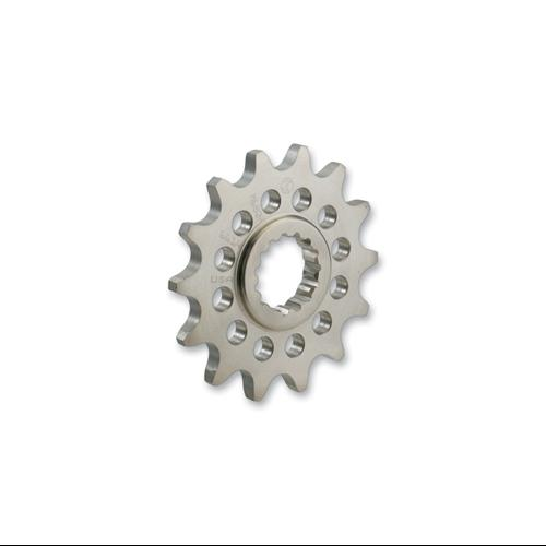 Moose Racing Chromoly-Steel Front Sprocket 15 Tooth Fits 86-96 Suzuki DR125