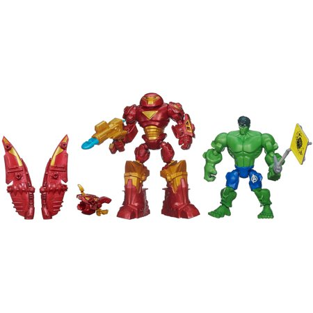Marvel Super Hero Mashers Hulkbuster vs Hulk Mash Pack