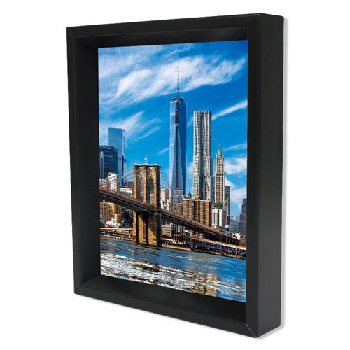Pyramid America New York City Freedom Tower Framed Photographic Print