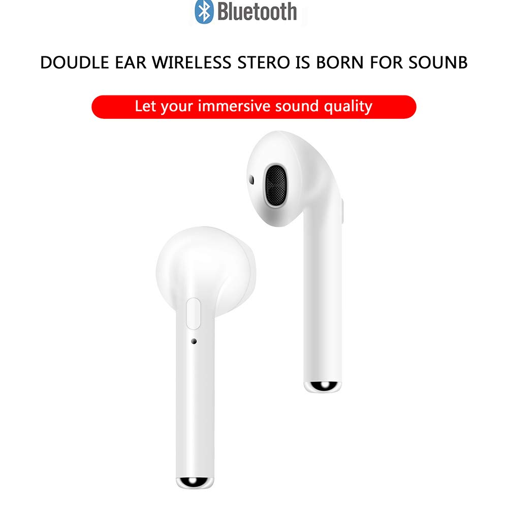 Bangde Wireless Bluetooth Headphones. Stereo In-Ear Sports Headphones with Charging Box for iPhone and Android Smart Phones - image 9 of 18