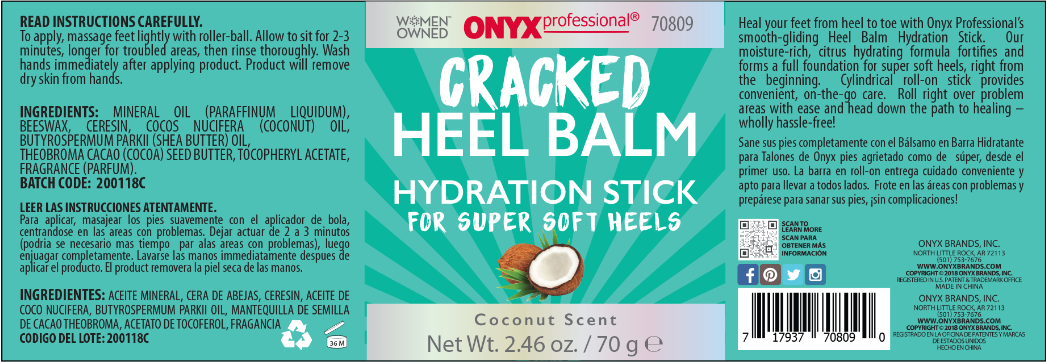 Onyx Cracked Heel Balm Hydration Stick PHYTO 9 Nourishing Day Cream with 9 Plants 1.70 oz (Pack of 3)