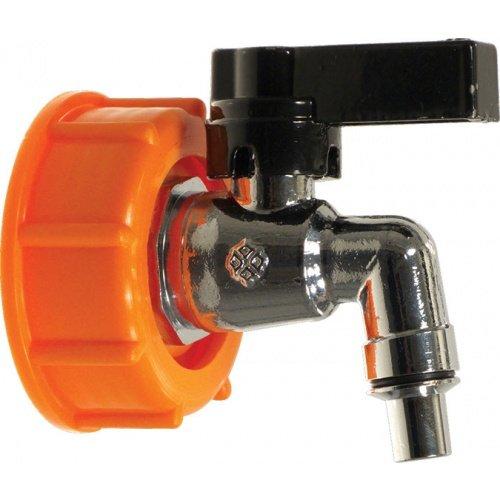 Eagle FE788Chrome Spigot for Speidel Plastic Fermenters, Orange chrome by JGB Enterprises