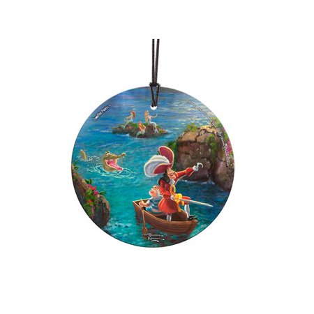 Trend Setters Disney Peter Pan - Captain Hook and Smee Hanging Shaped Ornament