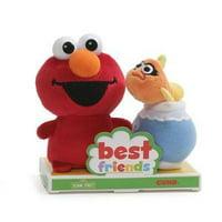 """GUND - Sesame Street - Elmo & Dorothy BFF Set, 4"""""""