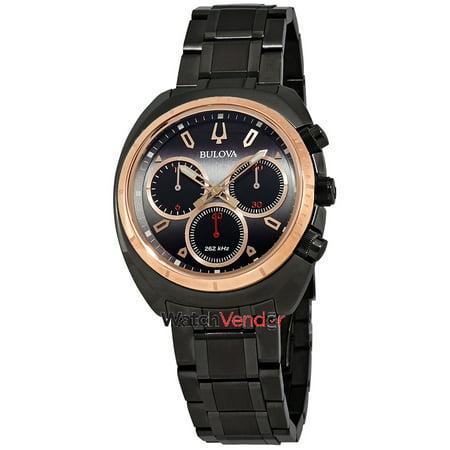 706f9f11c Bulova Curv Chronograph Black Dial Men's Watch 98A158 | Walmart Canada
