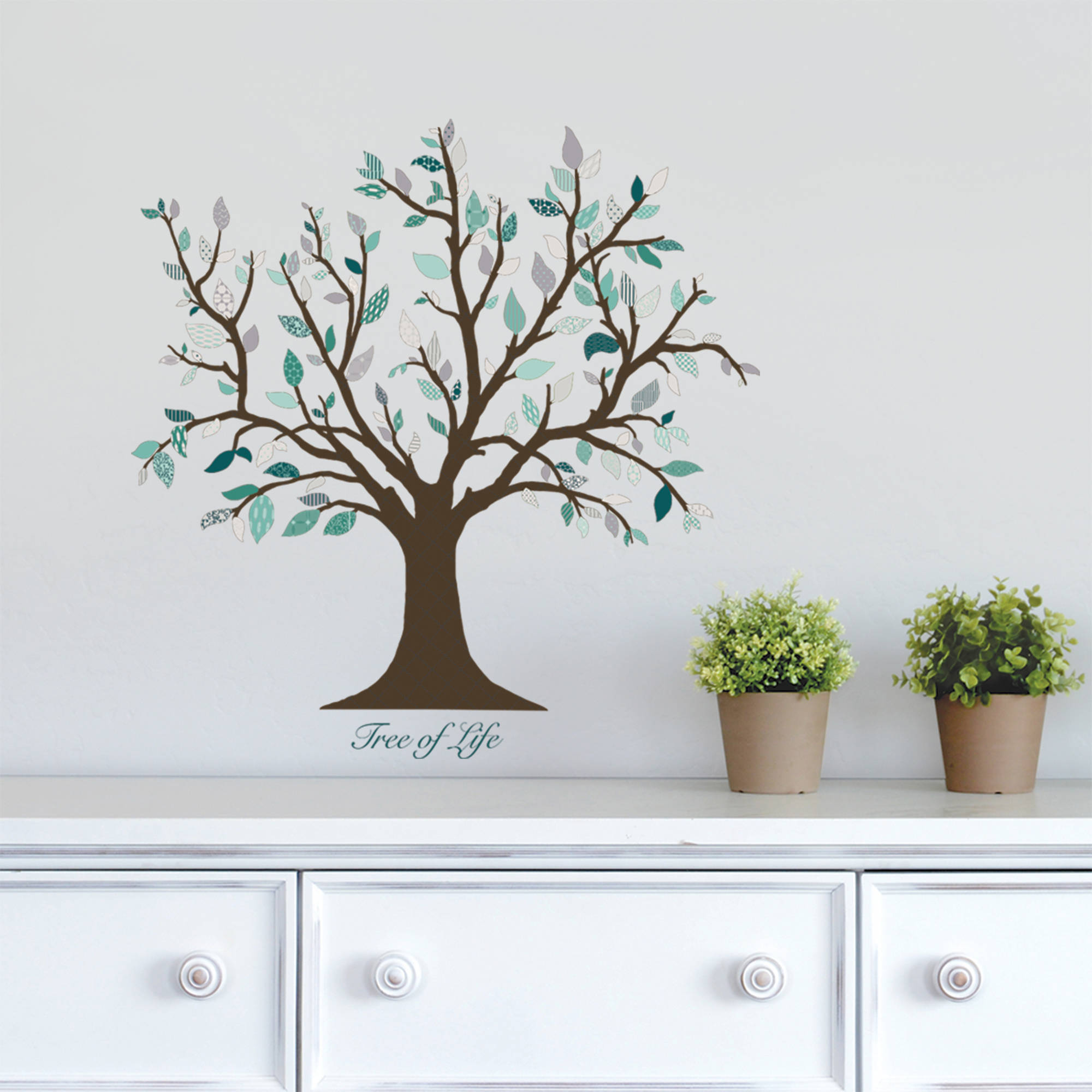 Merveilleux DCWV Vinyl Tree Of Life Wall Decal   Walmart.com