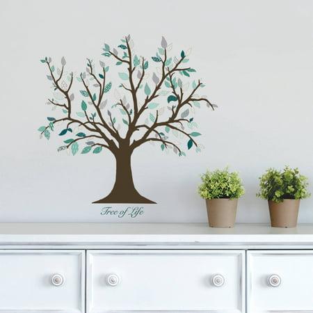 dcwv vinyl tree of life wall decal. Black Bedroom Furniture Sets. Home Design Ideas